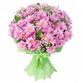 Букет с хризантем 1
