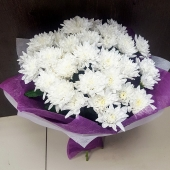 Букет из хризантем 2